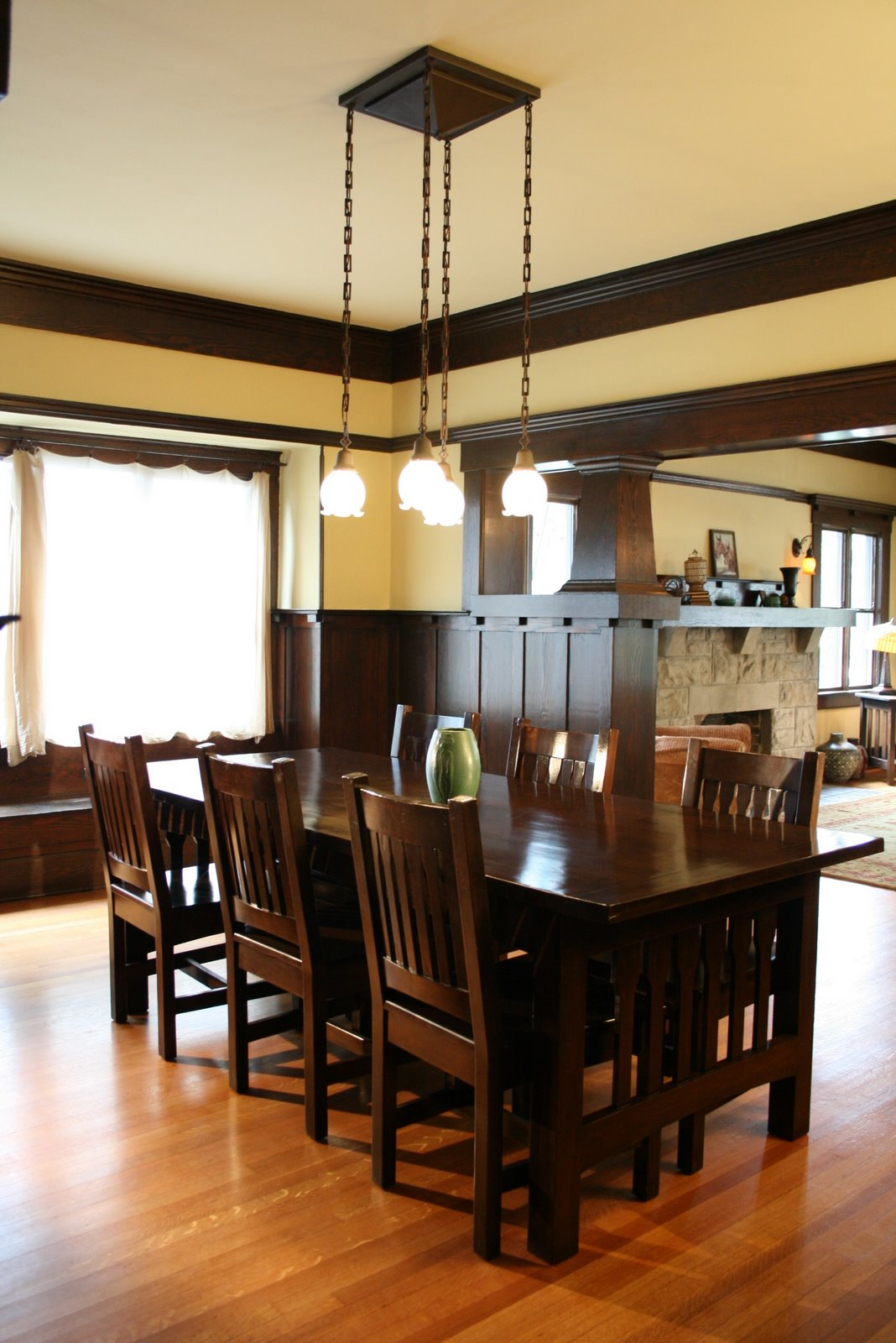 Craftsman style Craftsman home interior