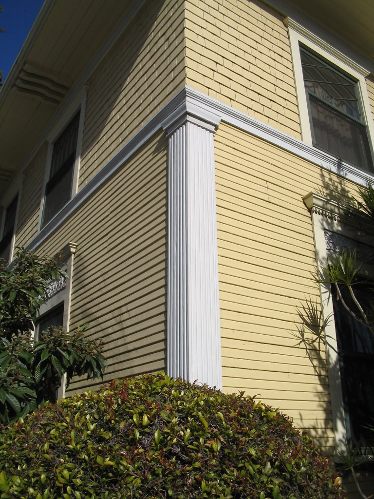 Pilasters On A House