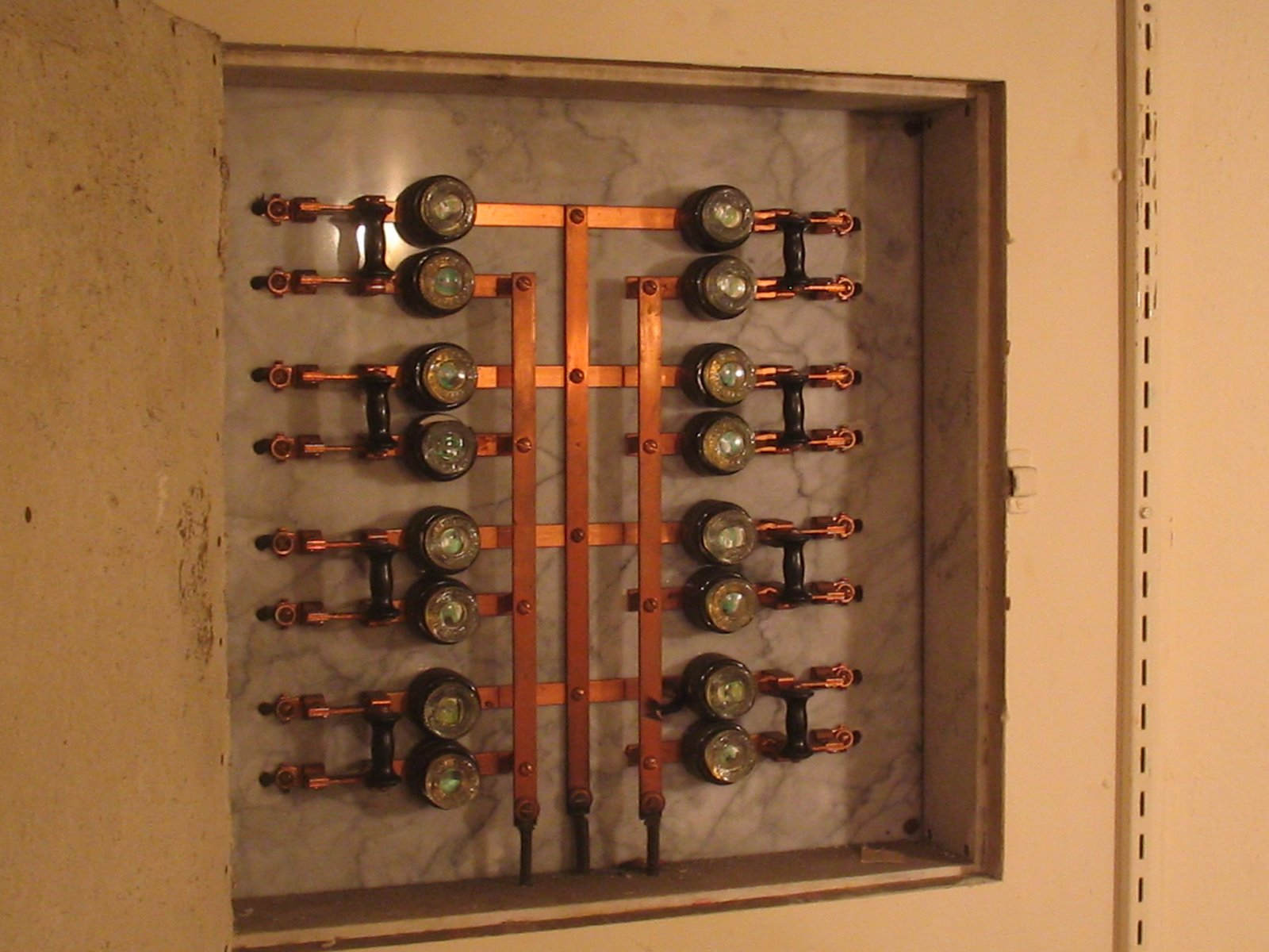 1920s Fuse Box Start Building A Wiring Diagram 100 Amp Panel Original Lectrical From 1914 Kept Within House As Display Rh Reddit Com Old